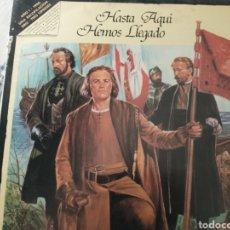 Discos de vinilo: HASTA AQUÍ HEMOS LLEGADO LP. Lote 218425153