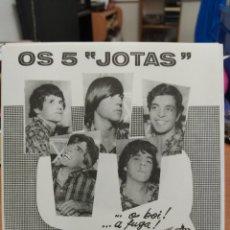 Discos de vinilo: OS 5 JOTAS/RONALDO SOARES–O BOI / VÉSPERA DA DESTRUIÇÃO . SINGLE VINILO BRASIL. NUEVO. Lote 218432107