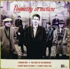 Disques de vinyle: THE POGUES - POGUETRY IN MOTION EP STIFF 1986. Lote 218433083