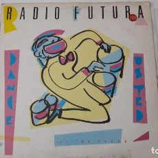 Discos de vinilo: RADIO FUTURA MAXI DANCE USTED.. Lote 218440385
