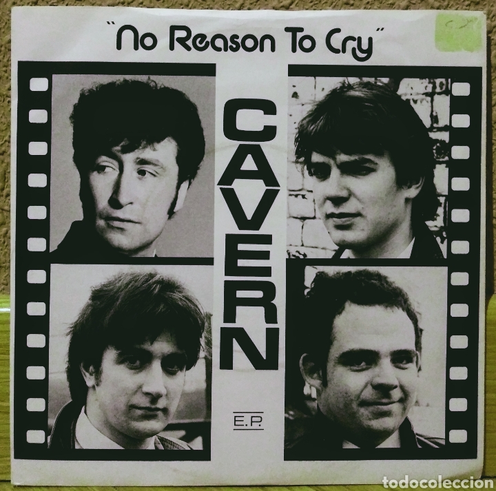 CAVERN - NO REASON TO CRY EP KAY DRUM 1982 (Música - Discos de Vinilo - EPs - Pop - Rock - New Wave Extranjero de los 80)
