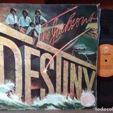 Discos de vinilo: THE JACKSONS - MICHAEL JACKSON - DESTINY. EDICIÓN ESPAÑOLA.. Lote 218441003