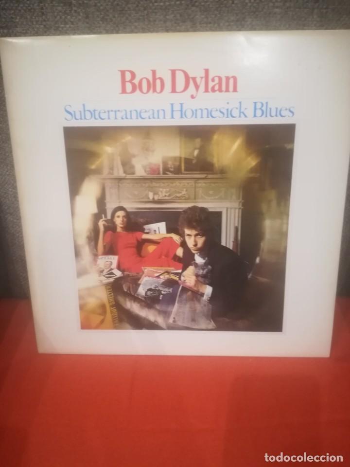 BOB DYLAN.SUBTERRANEAN HOMESICK BLUES.BRINGIN' IT ALL BACK HOME.VINILO EDICIÓN FRANCESA AÑOS 80.CBS. (Música - Discos - LP Vinilo - Cantautores Extranjeros)
