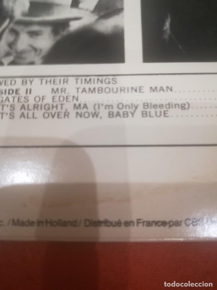 Discos de vinilo: Bob Dylan.Subterranean Homesick Blues.Bringin it all back home.Vinilo edición francesa años 80.CBS. - Foto 5 - 218441765