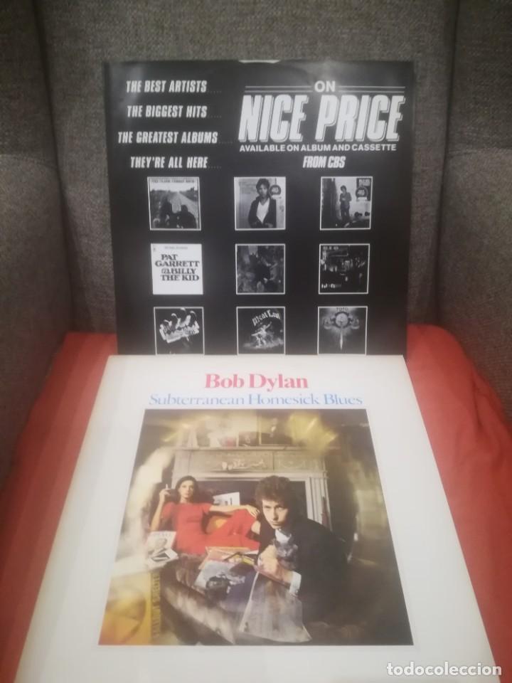 Discos de vinilo: Bob Dylan.Subterranean Homesick Blues.Bringin it all back home.Vinilo edición francesa años 80.CBS. - Foto 6 - 218441765