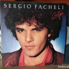 Discos de vinilo: SERGIO FACHELI - CONTIGO LP 1981 SPAIN. Lote 218442370
