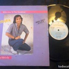 Discos de vinilo: CARRARA – WELCOME TO THE SUNSHINE ITALO-DISCO 1985. Lote 218442472