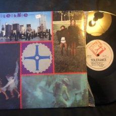 Discos de vinilo: TOLERANCE – MACHINERY. EURO-DISCO 1985. Lote 218443595