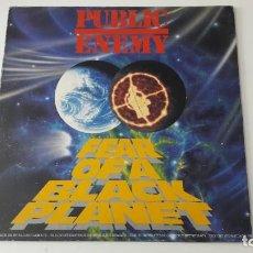 Discos de vinilo: PUBLIC ENEMY FEAR OF A BLACK PLANET ED. ESPAÑOLA 1990. Lote 218443747