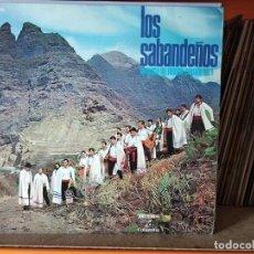 Disques de vinyle: LOS SABANDEÑOS - ANTOLOGÍA DEL FOLKLORE CANARIO VOL 1 -LOS SABANDEÑOS LP-1970. Lote 56189186