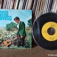 Discos de vinilo: ANTONIO RAVELO - LIMOSNA DE UN HIJO / ISA CANARIA / ESPADA DE LUNA/HABANERA DEL CARIÑO. Lote 218445327