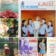 Discos de vinilo: KARINA, LOS JAGUARS, MARIBEL LLAUDES, DISCOS DIFÍCIL DE CONSEGUIR!!!. Lote 218448602