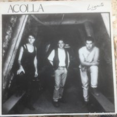 Discos de vinilo: ACOLLA - LIGNITO - LP - KIKOS 1986 EDICIÓN ESPAÑOLA. Lote 218449832