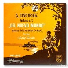Discos de vinilo: ANTON DVORAK - SINFONÍA Nº 5 DEL NUEVO MUNDO - DISCOS PHILIPS - 1958. Lote 218452487