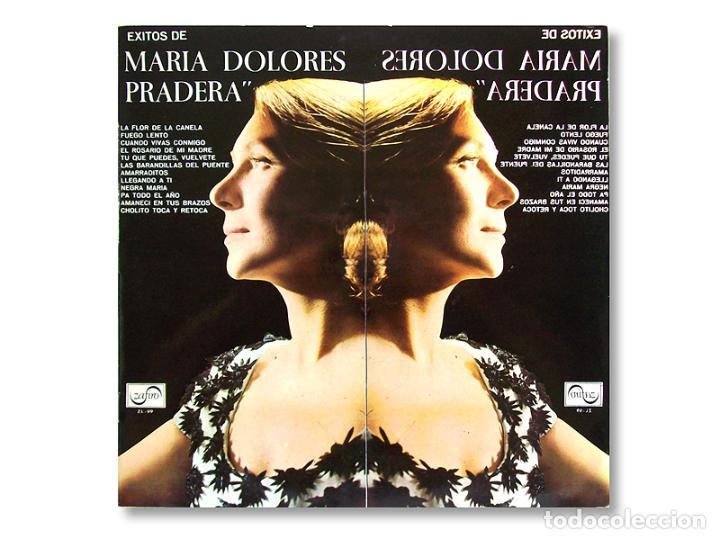 ÉXITOS DE MARIA DOLORES PRADERA - DISCOS ZAFIRO - 1967 (Música - Discos - LP Vinilo - Solistas Españoles de los 50 y 60)