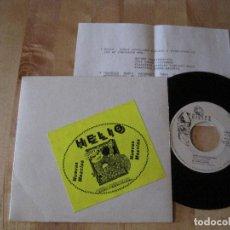 Discos de vinilo: EP HELIO TRILITA 002 ES MI NOCHE PROMO + INSERT. Lote 218460230