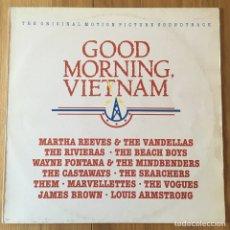 Discos de vinilo: GOOD MORNING, VIETNAM BANDA SONORA EN VINILO EDIC ESPAÑA. Lote 218463771