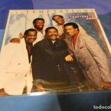 Discos de vinilo: LOTT80 LP MOTOWN USA 1987 THE TEMPTATIONS TOGETHER AGAIN BUEN ESTADO VINILO. Lote 218477141
