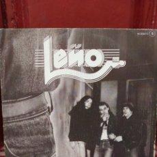Discos de vinilo: LEÑO–¡QUE TIRE LA TOALLA! / SORPRENDENTE . SINGLE VINILO ORIGINAL DE 1982. BUEN ESTADO.. Lote 218477883