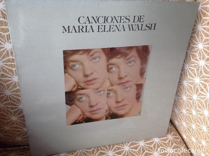 MARIA ELENA WALSH (LP) CANCIONES DE MARIA ELENA WALSH AÑO – 1974 (Música - Discos - LP Vinilo - Cantautores Extranjeros)