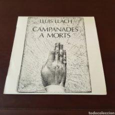 Discos de vinilo: LLUIS LLACH - CAMPABADES A MORTS. Lote 218488213