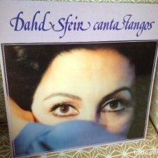 Discos de vinilo: DAHD SFEIR - CANTA TANGOS - LP HEMISFERIO ESPAÑA 1980, ANÍBAL TROILO , HOMERO MANZI ,CATULO CASTILLO. Lote 218489230