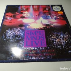 Discos de vinilo: MAXI - SIMPLE MINDS ?– PROMISED YOU A MIRACLE - 10¨ - E.LIMI CON POSTER ( VG+ / VG+) UK 1987. Lote 218491511