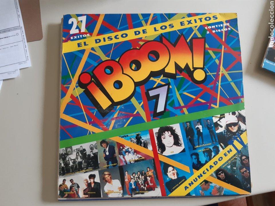 Discos de vinilo: Lote de 5 Vinilo LP Exitos Boom Que locura Decada prodigiosa Lambada - Foto 2 - 218492653