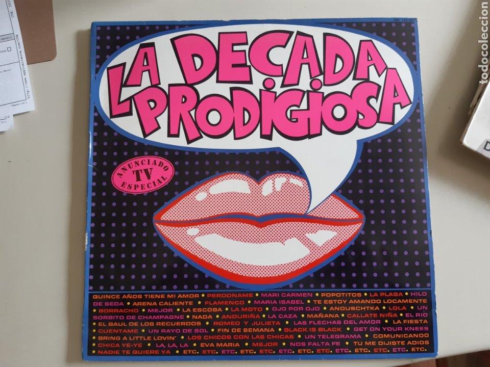 Discos de vinilo: Lote de 5 Vinilo LP Exitos Boom Que locura Decada prodigiosa Lambada - Foto 4 - 218492653