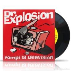 """Discos de vinilo: DR. EXPLOSION ROMPÍ LA TELEVISIÓN VINYL, 7"""", SINGLE, REISSUE, MONO ROCK. Lote 218494023"""