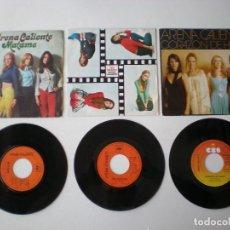 Discos de vinilo: ARENA CALIENTE - LOTE DE 3 SINGLES CBS ESPAÑA. Lote 218501967