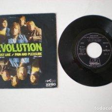 Discos de vinilo: EVOLUTION -I MUST LIVE + 1 - EKIPO 4011 - ESPAÑA 1972. Lote 218503022
