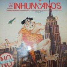 Discos de vinilo: INHUMANOS LP. Lote 218505651