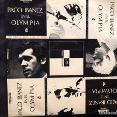Discos de vinilo: PACO IBÁÑEZ EN EL OLIMPIA. DOBLE VINILO. Lote 218505830
