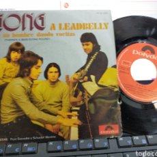 Discos de vinilo: GONG SINGLE A LEADBELLY 1971. Lote 218512507