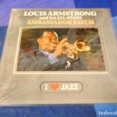 Discos de vinilo: LOJZ78 LP AMBASSADOR SATCH UK AÑOS 80 BUEN ESTADO LP JAAZ UK. Lote 218512903