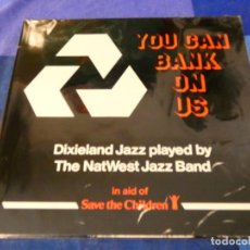 Discos de vinilo: LOJZ78 LP JAZZ UK 1987 DIXIELAND JAZZ PLAYED BY THE NATWEST JAZZ BAND BUEN ESTADO. Lote 218513707