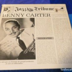 Discos de vinilo: LOJZ78 DOBLE LP JAZZ UK AÑOS 80 BENNY CARTER 1928-52 EN LA SERIE JAZZ TRIBUNE. Lote 218514811