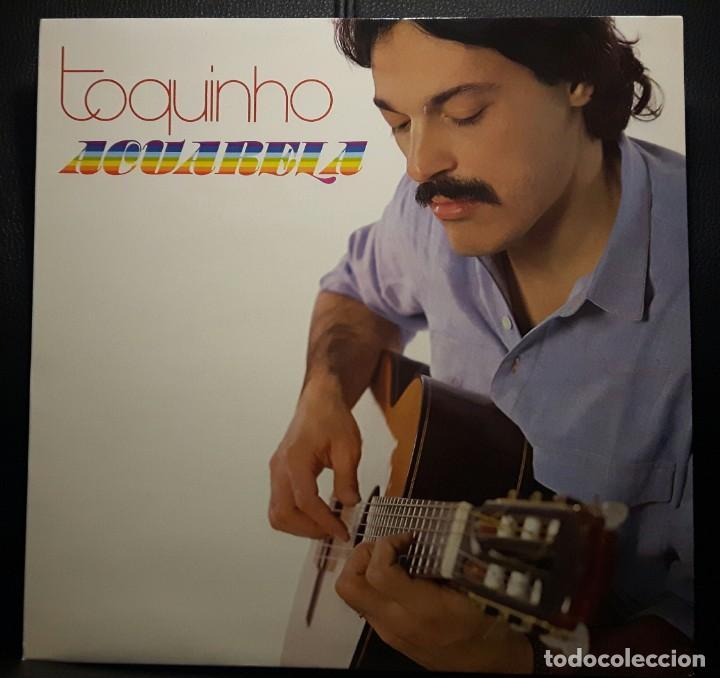 TOQUINHO - ACUARELA - LP - ESPAÑA - 1983 - EXCELENTE - NO USO CORREOS (Música - Discos - LP Vinilo - Cantautores Extranjeros)