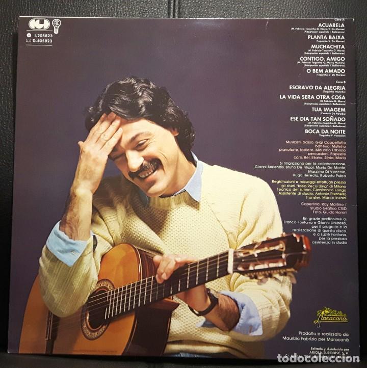 Discos de vinilo: TOQUINHO - ACUARELA - LP - ESPAÑA - 1983 - EXCELENTE - NO USO CORREOS - Foto 2 - 218515311