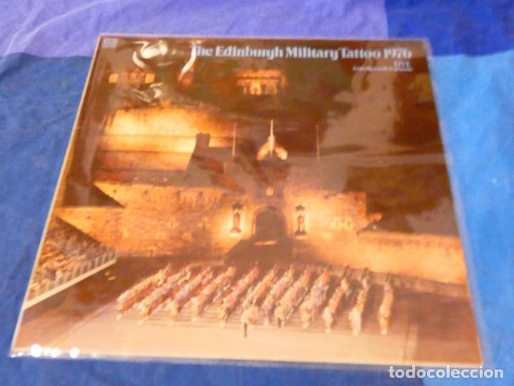 LOJZ78 LP MARCHAS MIIARES- ORQUESTA EDIMBURGH MILITARY TATTOO 1976 LIVE BUEN ESTADO (Música - Discos - LP Vinilo - Rock & Roll)