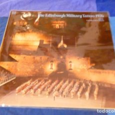 Discos de vinilo: LOJZ78 LP MARCHAS MIIARES- ORQUESTA EDIMBURGH MILITARY TATTOO 1976 LIVE BUEN ESTADO. Lote 218515622