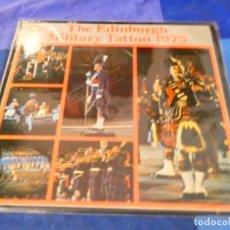Discos de vinilo: LOJZ78 LP MARCHAS MIIARES- ORQUESTA EDIMBURGH MILITARY TATTOO 1975 BUEN ESTADO. Lote 218515681