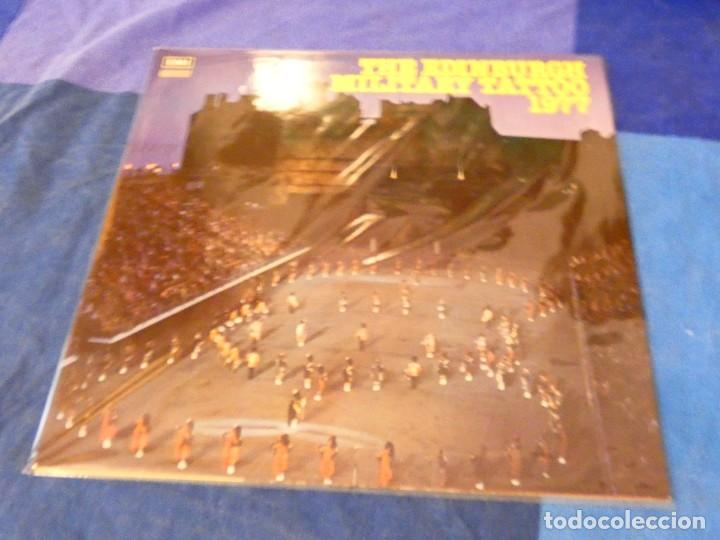LOJZ78 LP MARCHAS MIIARES- ORQUESTA EDIMBURGH MILITARY TATTOO 1977 BUEN ESTADO (Música - Discos - LP Vinilo - Rock & Roll)