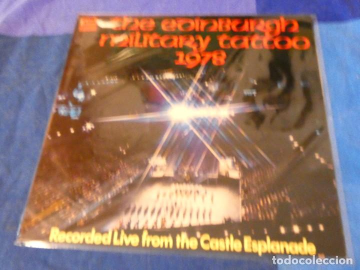 LOJZ78 LP MARCHAS MIIARES- ORQUESTA EDIMBURGH MILITARY TATTOO 1978 BUEN ESTADO (Música - Discos - LP Vinilo - Rock & Roll)