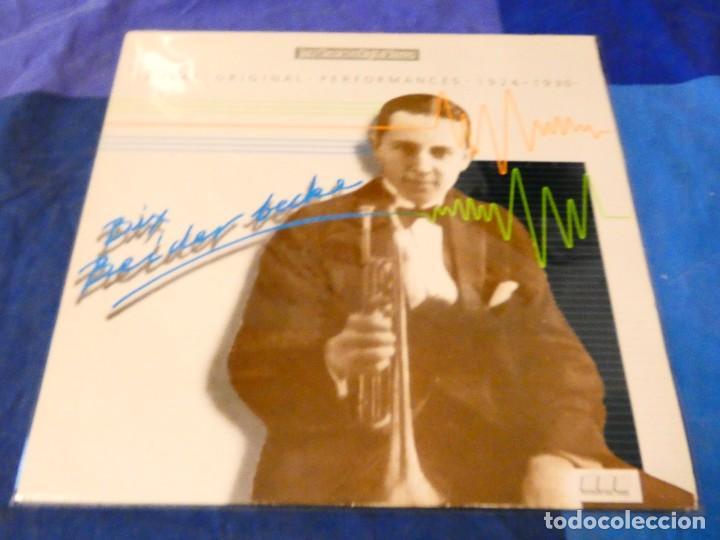 LOJZ78 LP JAZZ UK AÑOS 80 MUY BUEN ESTADO LEON BIX BEIDERBECKE GREATEST PERFORMANCES MUY BUEN ESTADO (Música - Discos - LP Vinilo - Rock & Roll)