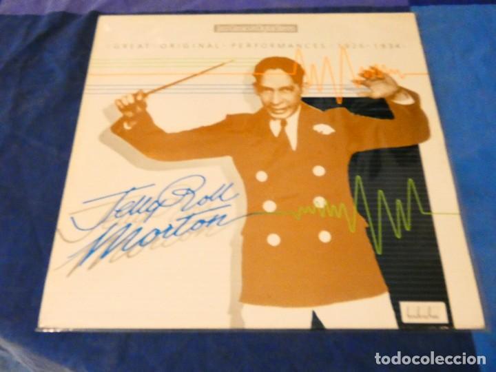 LOJZ78 LP JAZZ UK AÑOS 80 MUY BUEN ESTADO JERRY ROLL MORTON GREATEST PERFORMANCES (Música - Discos - LP Vinilo - Rock & Roll)