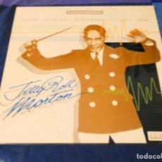 Discos de vinilo: LOJZ78 LP JAZZ UK AÑOS 80 MUY BUEN ESTADO JERRY ROLL MORTON GREATEST PERFORMANCES. Lote 218516168