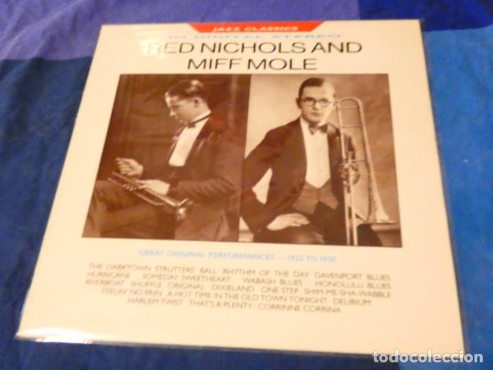 LOJZ78 LP JAZZ UK AÑOS 80 MUY BUEN ESTADO RED NICHOLS AND NIFF MOLE (Música - Discos - LP Vinilo - Rock & Roll)