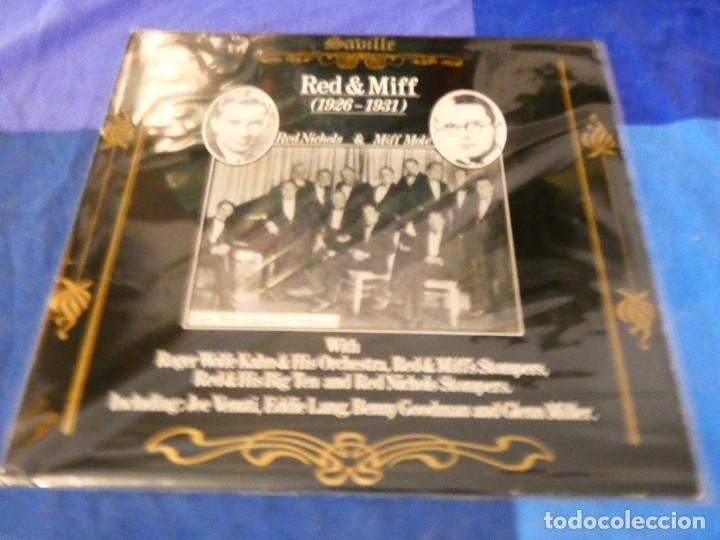 LOJZ78 LP JAZZ UK AÑOS 80 MUY BUEN ESTADO RED NICHOLS AND MIFF MOLE 1926-1931 (Música - Discos - LP Vinilo - Rock & Roll)